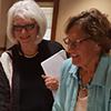 Photo of Catherine Marienau and Kathleen Taylor
